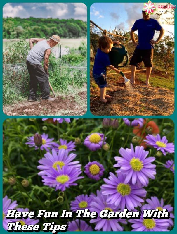 Have Fun In The Garden With These Tips